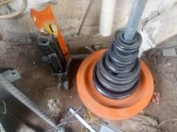 viradeora de tubo usada