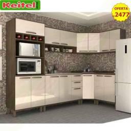 Título do anúncio: Cozinha Modulada Sara 7 Peças