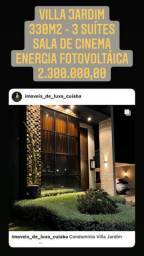 Villa jardim - com energia fotovoltáica