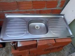 Pia de Cozinha em Inox