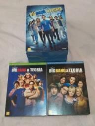 Coleção de DVDs Big Bang Theory