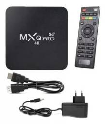 TV BOX MXQ 128Gb/4K/5G (NOVO)