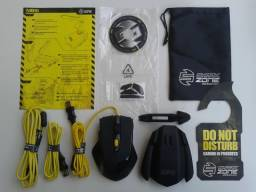 Kit Mouse Gamer Sharkoon Shark Zone M51 + Bungee Hub MB10