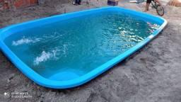 Cuida promoção de piscinas em 12x no cartão.