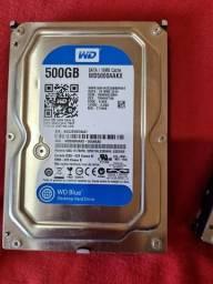 HD 500gb WesternDigital WD.