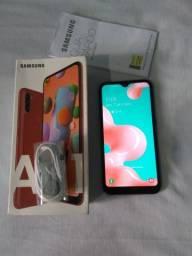 Samsung A01 com nota fiscal sem arranhão