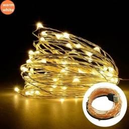 Fio de Fada para decoração(fio de cobre) 10M