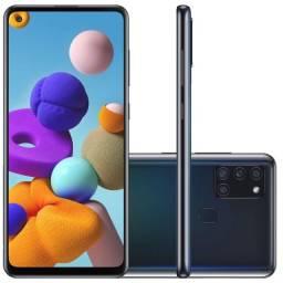 Samsung Galaxy A21s Novo / Lacrado / Com Nota Fiscal