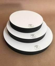 Título do anúncio: Cake Board Para Bolo Confeitaria Mdf 3mm