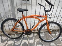 Aro 26 Beach bike, pneus novos freios Logan alumínio