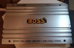 Modulo Amplificador Automotivo Boss AVA-650