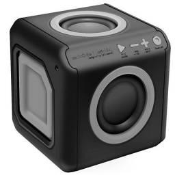 Speaker ELG audioCube RIO 20W pwc audBL 20 watts RMS com Bluetooth / Auxiliar - Preto
