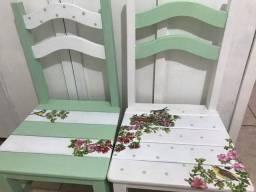 Cadeiras madeira