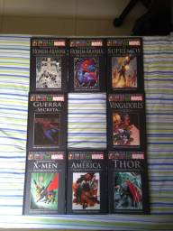 Graphic novels oficiais Marvel
