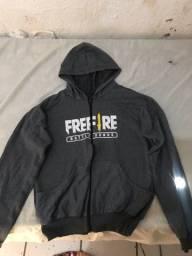 casaco free fire cinza