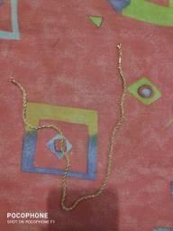 Cordão de pescoço unisex semi-joia