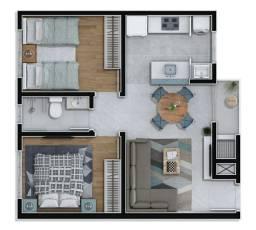 Vendo Apartamentos 2 quartos 100% Financiado em Almirante Tamandaré