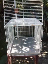 Gaiola para transporte de animais.