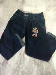 2 calças tamanho 6