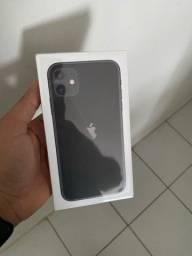 Iphone 11 64gb preto,lacrado com nota e 1 ano de garantia apple