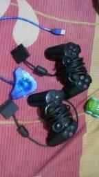 Título do anúncio: Joysticks Playstation 2