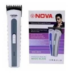 Título do anúncio: Aparador Barba Cabelo Corpo Recarregável Nova Wpp: *