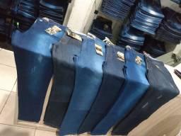 Calças jeans com lycra masculino