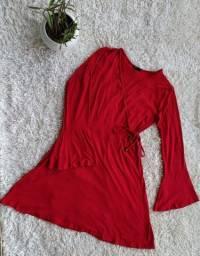 Vestido soltinho vermelho