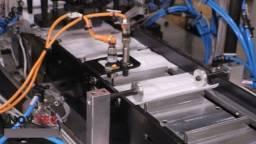 Maquina Industrial para soldar os elásticos em máscaras de TNT