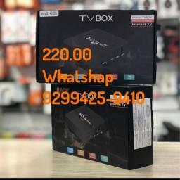 Aparelho tv box 220.00 faz entrega