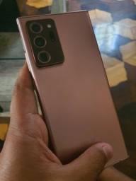 Samsung note 20 ultra bronze 256/12 ( VENDA E TROCA)