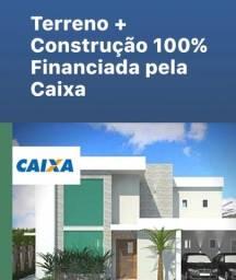 Construção financiada pela caixa