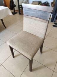 Cadeiras para Mesa de Jantar (conjunto com 6 cadeiras)