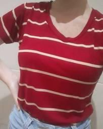 Tshirt gola v