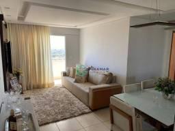 Apartamento com 3 dormitórios à venda, 71 m² por R$ 355.000 - Parque Amazônia - Goiânia/GO