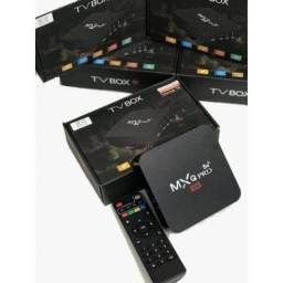 Tv box mxq 4k pro  4/64 aparelhos novos