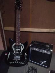 Troco por violão Guitarra mais caixa mais capa