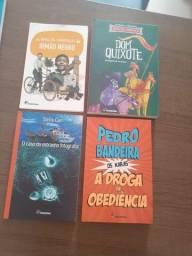 Kit Livros Paradidáticos Editora Moderna