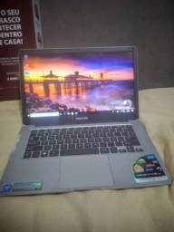 Vendo notebook positivo com caixa e manual