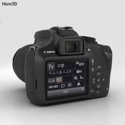 Câmera Profissional: Canon Rebel EOS T5