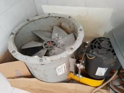 Exaustor transmissão 40cm