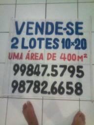 2 lotes 10x20