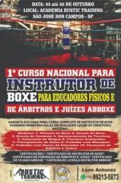 Curso de Instrutor de Boxe em São José dos Campos