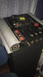 Modulo amplificador s15 15.000 rms ACEITO CARTÃO 12x c/juros