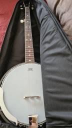 Banjo stagg 5 cordas com bag