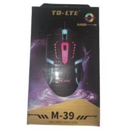 Super Mouse Gamer Com Led TD-Lte M-39