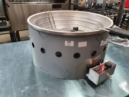 Tacho/ fritador/ fritadeira elétrico 5 litros Metalcubas