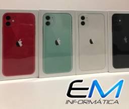 IPhone 11 64Gb Novo lacrado! somos uma loja, aceitamos seu iphone de entrada!