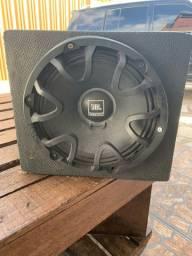 Caixa sub com módulo JBL