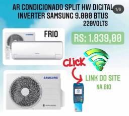 Ar condicionado Split HW digital inverter Samsung 9000BTUS